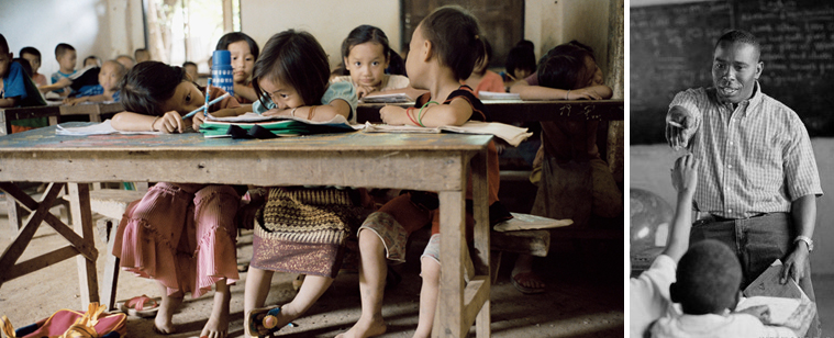 Education and philanthropy for kids in undeveloped countries